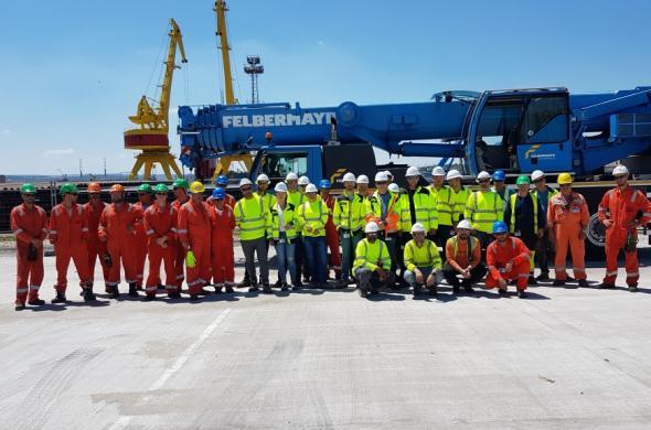 Първи проучвателен сондаж на ШЕЛ в в Черно море