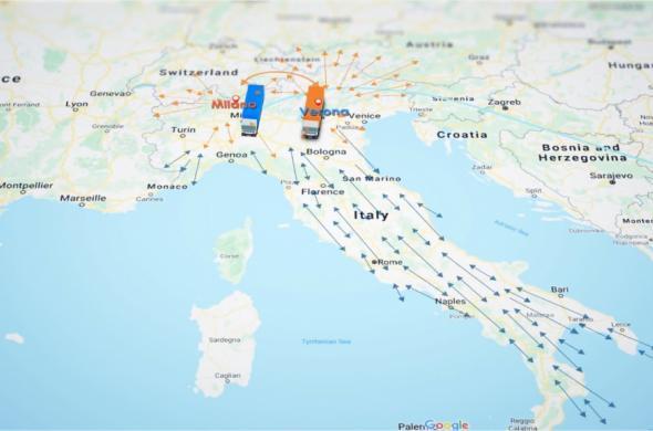 NEW TRANSPORT SERVICE ITALY - BULGARIA - ITALY
