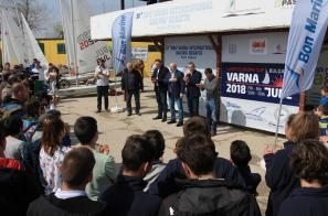 Бон Марин подкрепи 38та Регата Бриз Пролет 2018 Варна